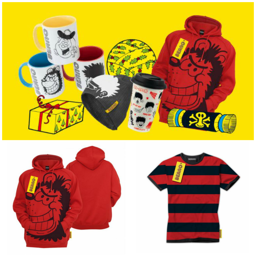 Beano Shop collage