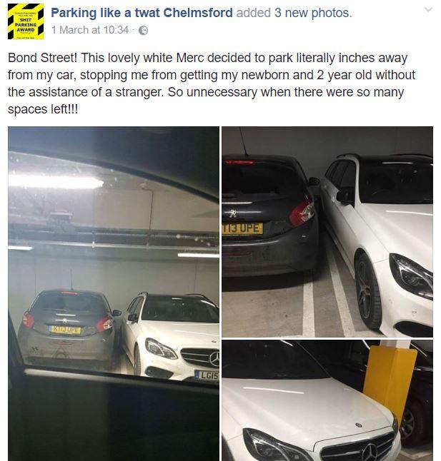 Parking Like a Twat Chelmsford
