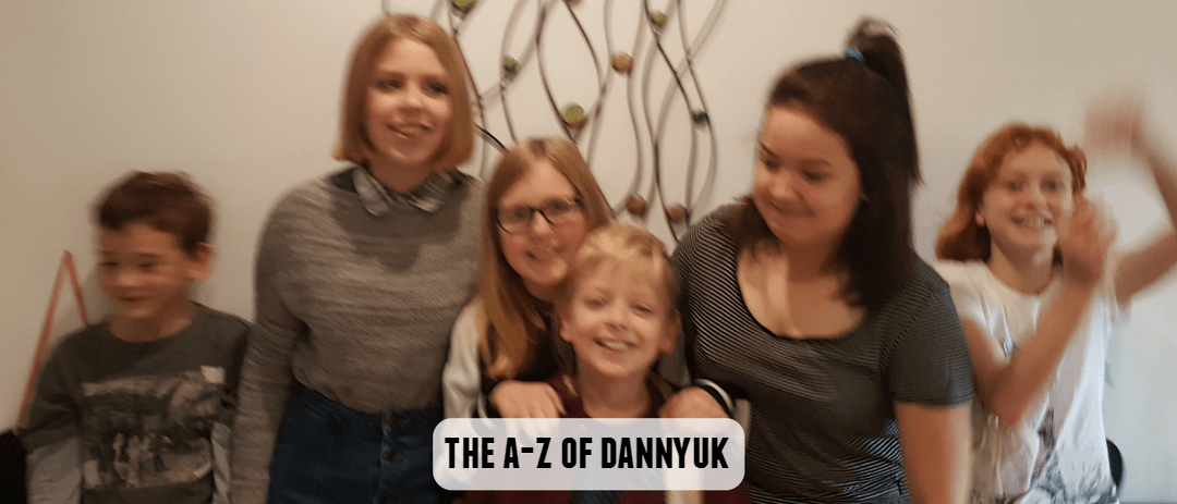 26 things about me: The A-Z of DannyUK