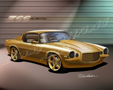 chevy camaro art by danny whitfield