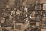 Boyd Stevens inside his store. July 6, 2014