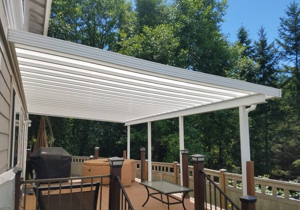 patio skylights with danpalon