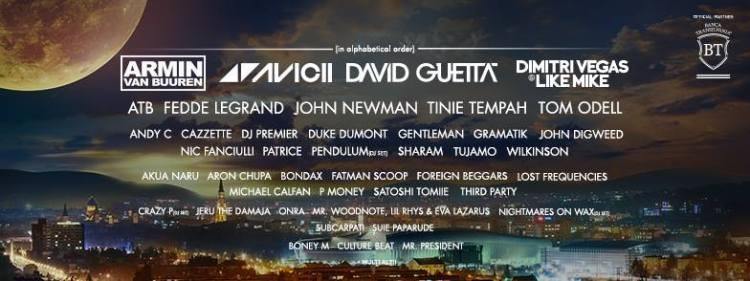 Line-up la Untold Festival