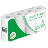 Toiletpapir 2-lags 30m 64 ruller