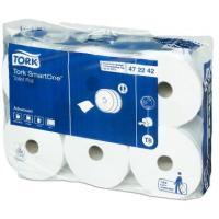 Tork Toiletpapir T8 SmartOne Advanced 207m 2-lags 6 ruller