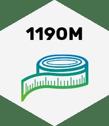 1190 Meter