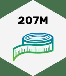 207 Meter