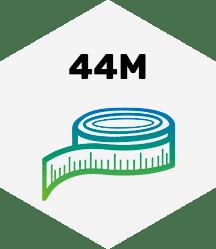 44 Meter