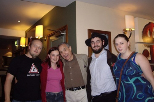 Dan, Claire, !!!LLOYD KAUFMAN!!!, JTA, and Ruth