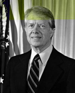 U.S. President Jimmy Carter