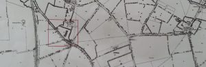 A map of the area around our new house, as it was about a century ago.