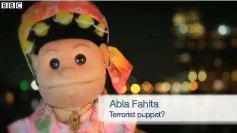 Terrorist puppet