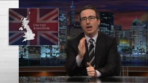 John Oliver on Last Week Tonight discusses the bill.