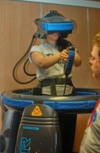 A Virtuality 1000 CS system.