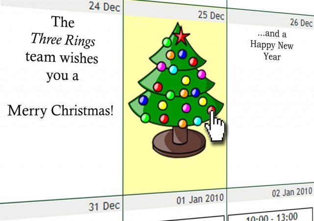 Three Rings' 2009 Christmas card
