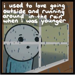 Rain, by Invisible Bread