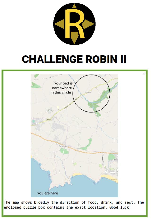 Clue 4 of Challenge Robin II