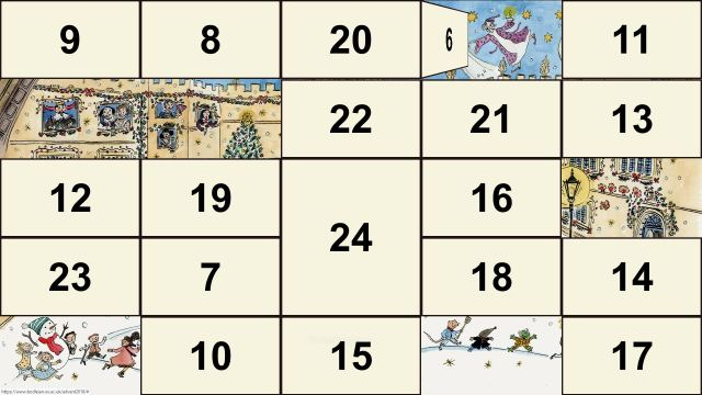 Bodleian 2018 digital advent calendar