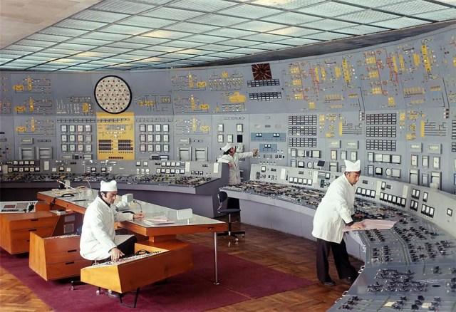 Soviet Control Room