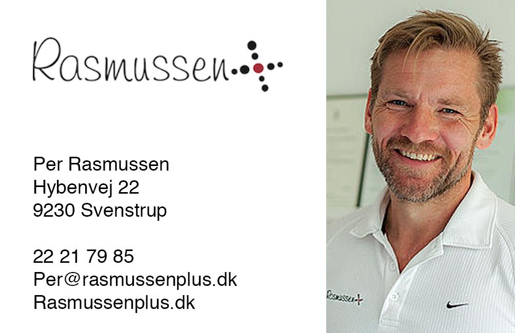 Per Rasmussen Visitkort