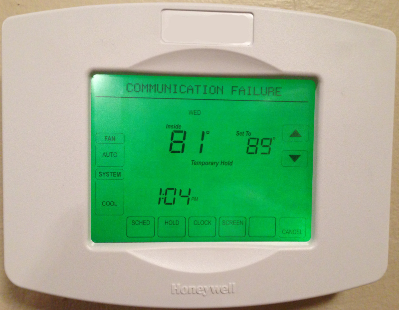 Removing com module from honeywell utilitypro dan rossiter thermostat connection error asfbconference2016 Image collections