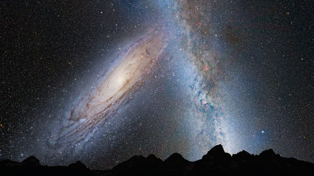 Andromeda_Collides_Milky_Way