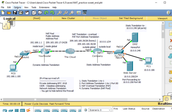 danscourses cisco ccna routing switching packet tracer linux