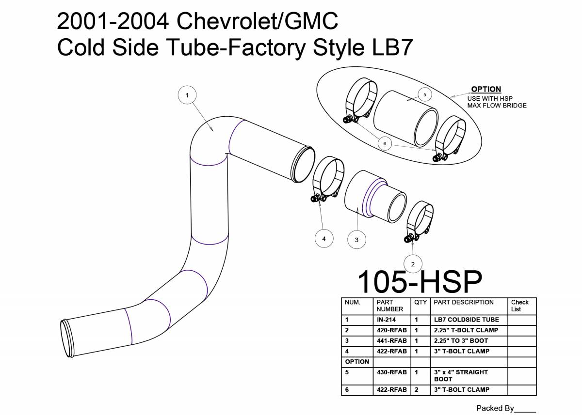 Chevrolet Gmc Cold Side Tube Factory Style