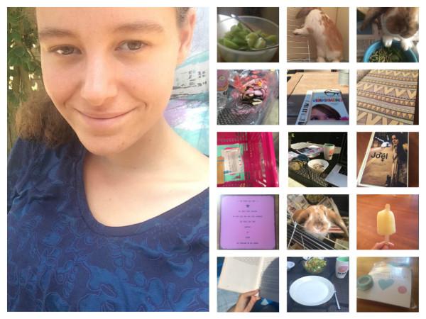 Mijn week #12: inkopen, warmte en zwemmen