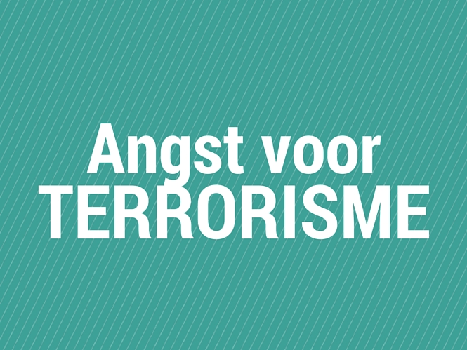 Angst voor terrorisme