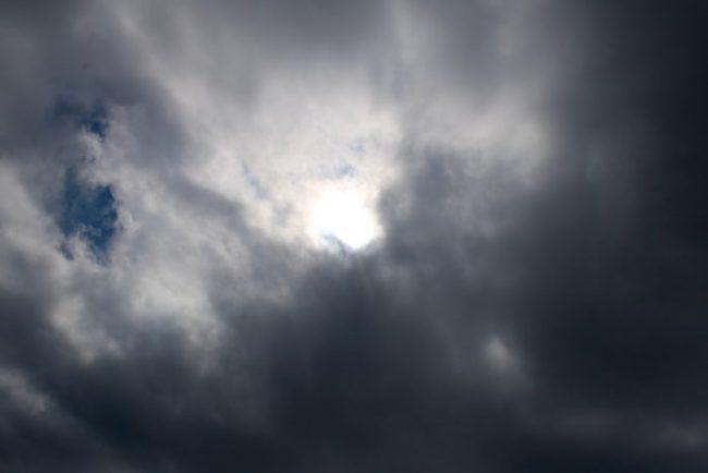 Het was niet echt geweldig weer, maar we hebben de zon nog even gezien.