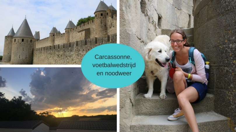 Vlog: La douce France #6: Carcassonne, noodweer en voetbal kijken met Belgen