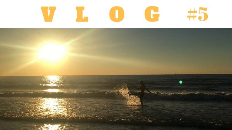 VLOG 5: In de zee zwemmen en andere plannen