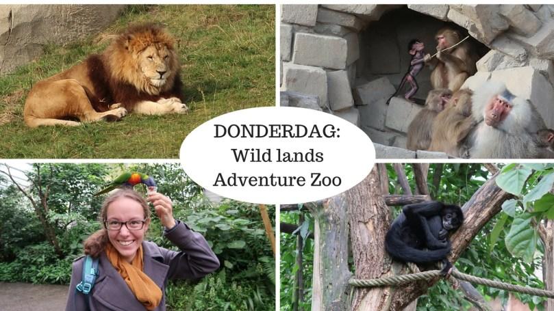 VLOG: Donderdag – Wildlands Adventure Zoo Emmen