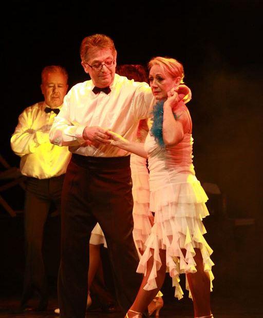 Les professeurs de danse Marie-Hélène et Jean-Pierre