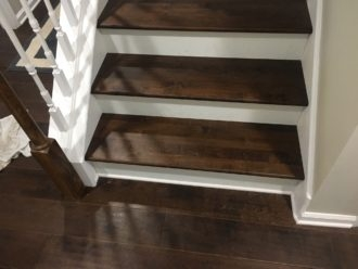 Installing Maple Flooring And Matching Stair Treads Sawgrass | Solid Maple Stair Treads | Soft Maple | Stair Parts | Risers | Red Oak Stair | Hardwood Floors