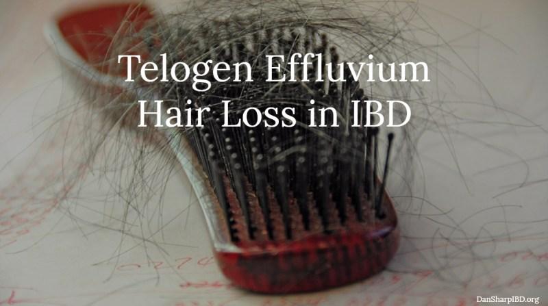 Telogen Effluvium Hair Loss in IBD