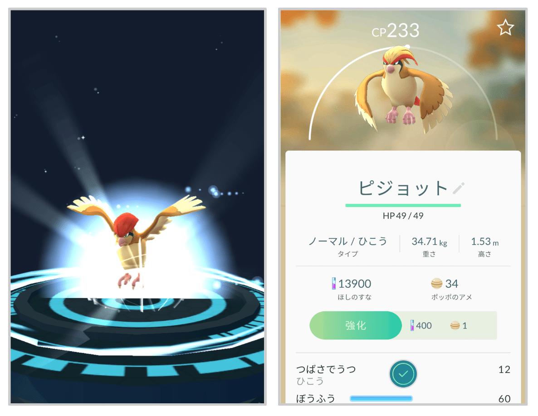 ポケモンGO 進化3