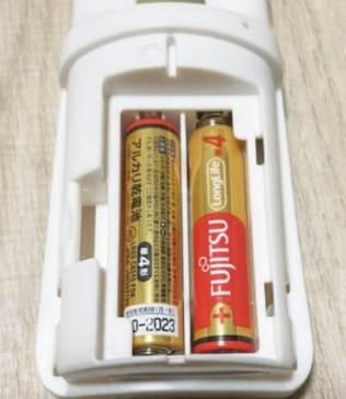サントリー神泡サーバー2021も単三電池式