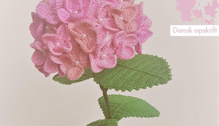 Hæklet hortensia