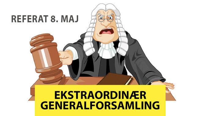 Referat Fra Ekstraordinær Generalforsamling 8. Maj 2018