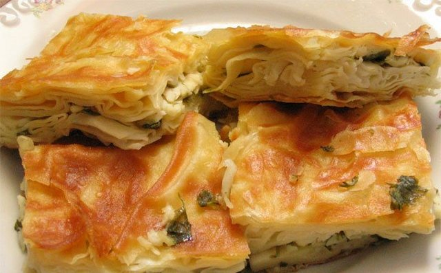 Hjemmelavet tyrkisk börek opskrift