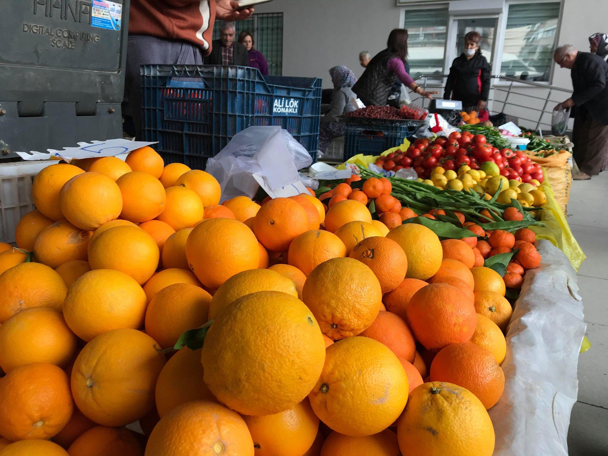 Tirsdagsmarked i Alanya