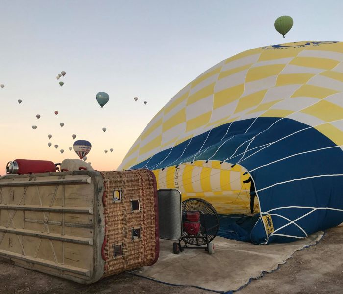 En magisk ballontur over Kappadokien