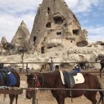 På hestetur i Kappadokien