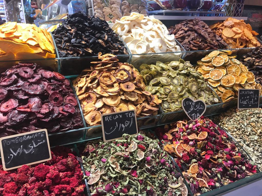 Grand bazar og den egyptiske bazar i Istanbul
