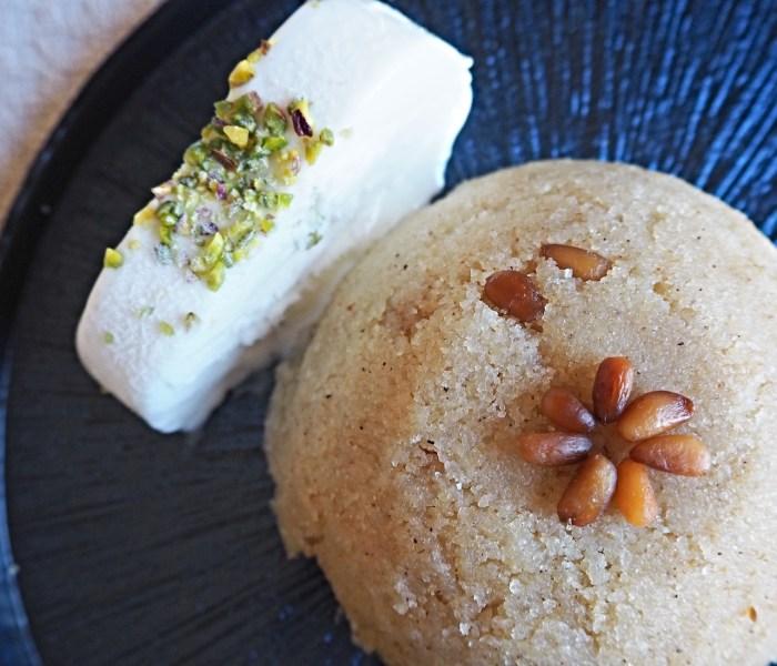 Irmik helvasi – tyrkisk semulje dessert