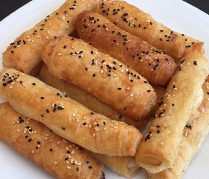 Tyrkiske osteruller i ovn