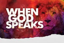 When God Speaks dan skognes motivation blogger speaker
