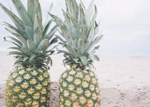 Photo d'ananas pour illustrer la recetet du curd